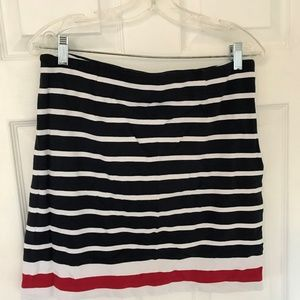 Womens Banana Republic Striped Skirt size 10